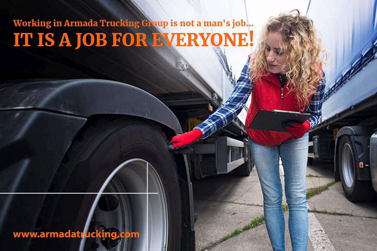 Working in Armada Trucking Group is a Job for Everyone
