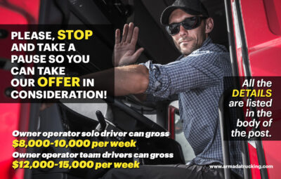 PLEASE, STOP and Take a Pause so You Can Take Our Offer in Consideration!