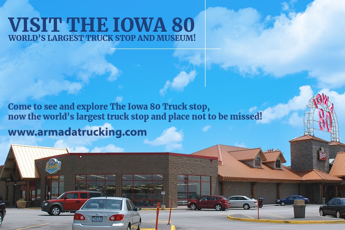 Visit the Iowa 80: World's Largest Truck Stop and Museum