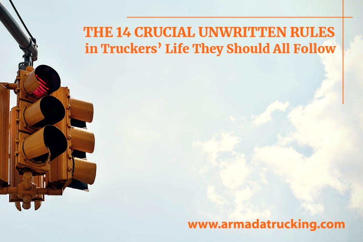 The 14 Crucial Unwritten Rules in Truckers' Life They Should All Follow