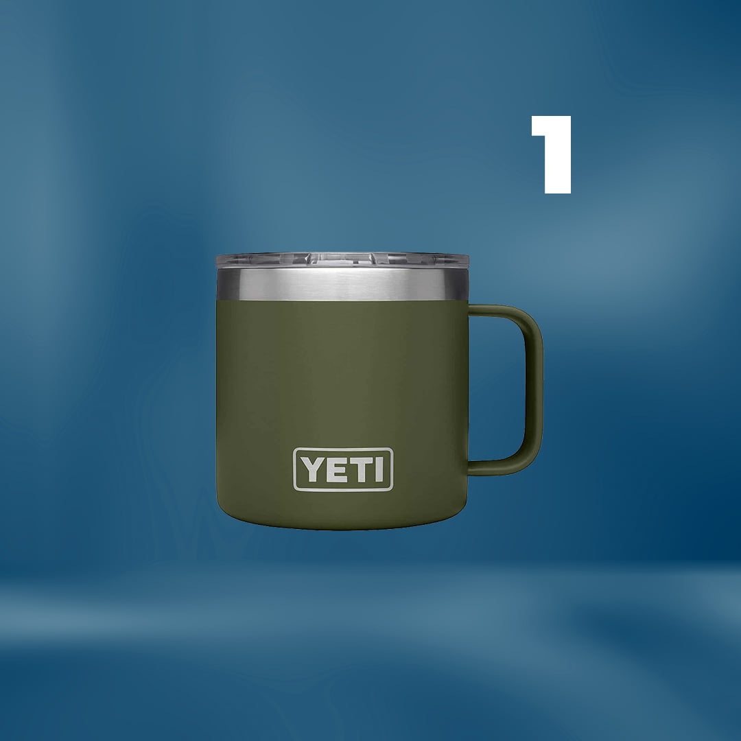Yeti Stainless Steel Insulated Coffee Mug with Lid
