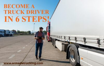 Become a Truck Driver in 6 Steps
