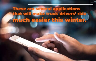 Apps that Will Make Winter Easier for Truck Drivers