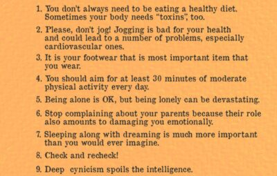 Useful Things to Remember
