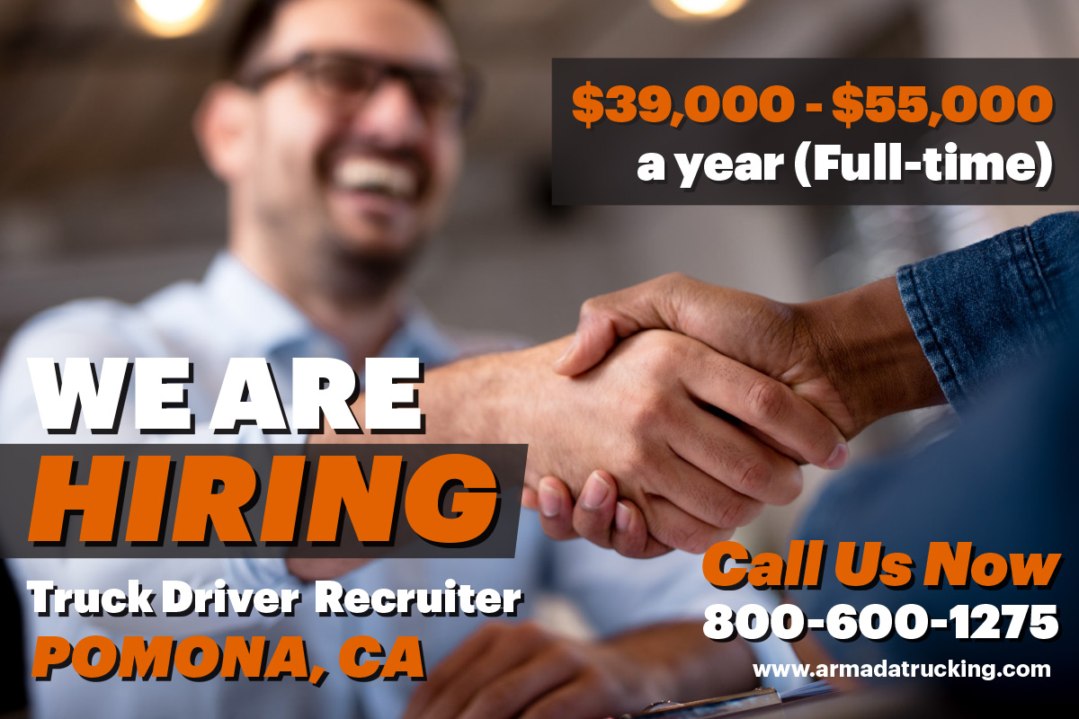 We Are Hiring – Truck Driver Recruiter