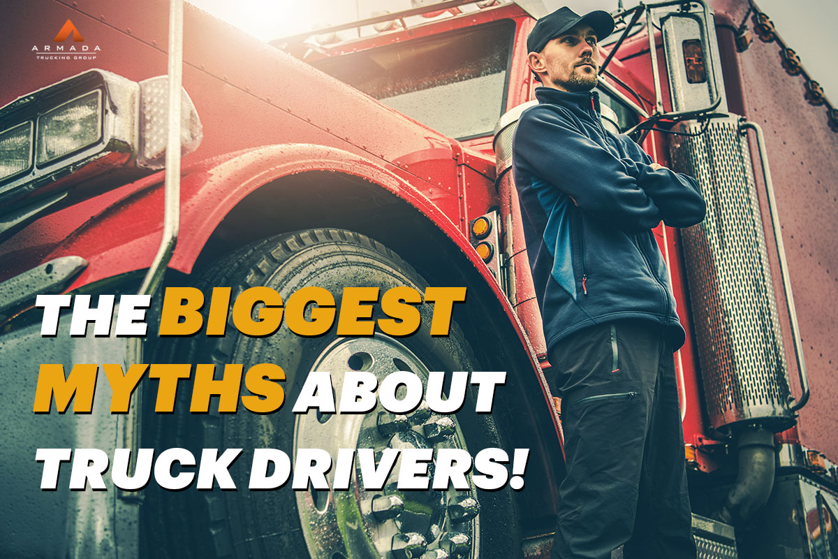 The Biggest Myths About Truck Drivers!