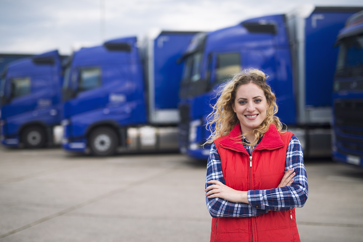Is Appealing to Women Truckers the Answer to Driver Shortages?