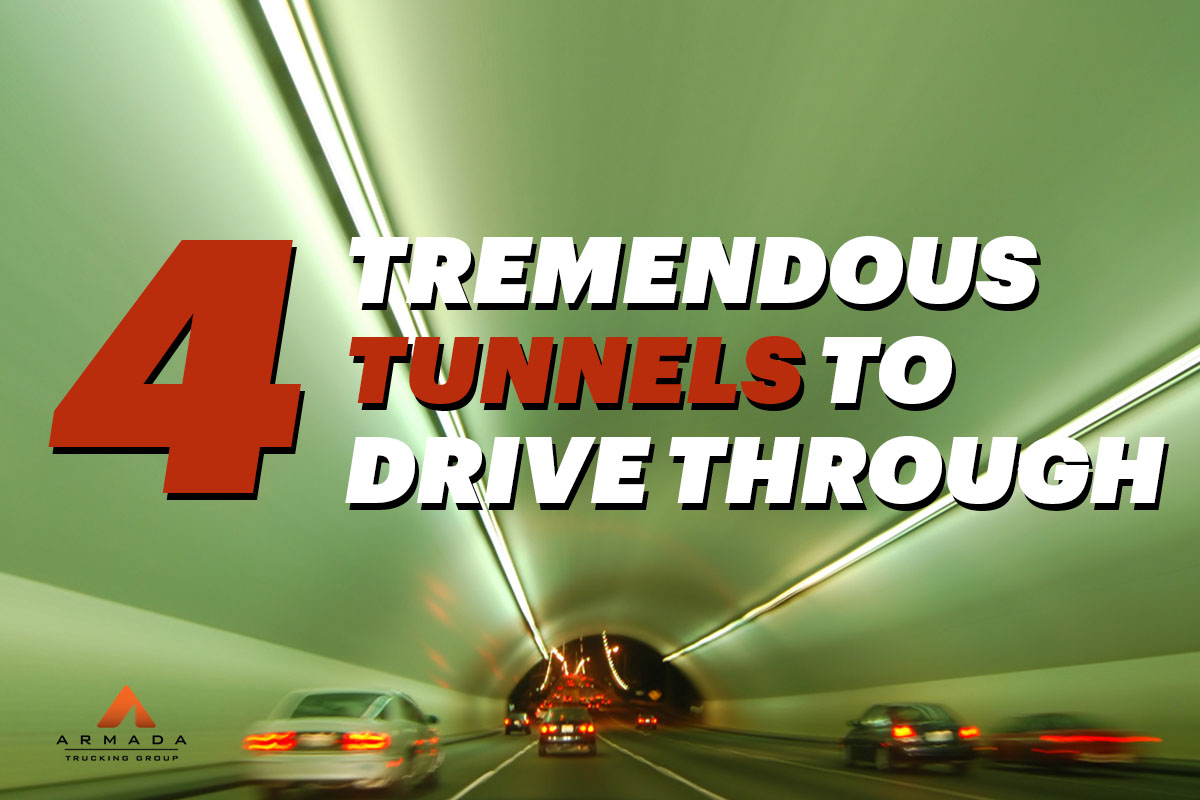 4 Tremendous Tunnels to Drive Through