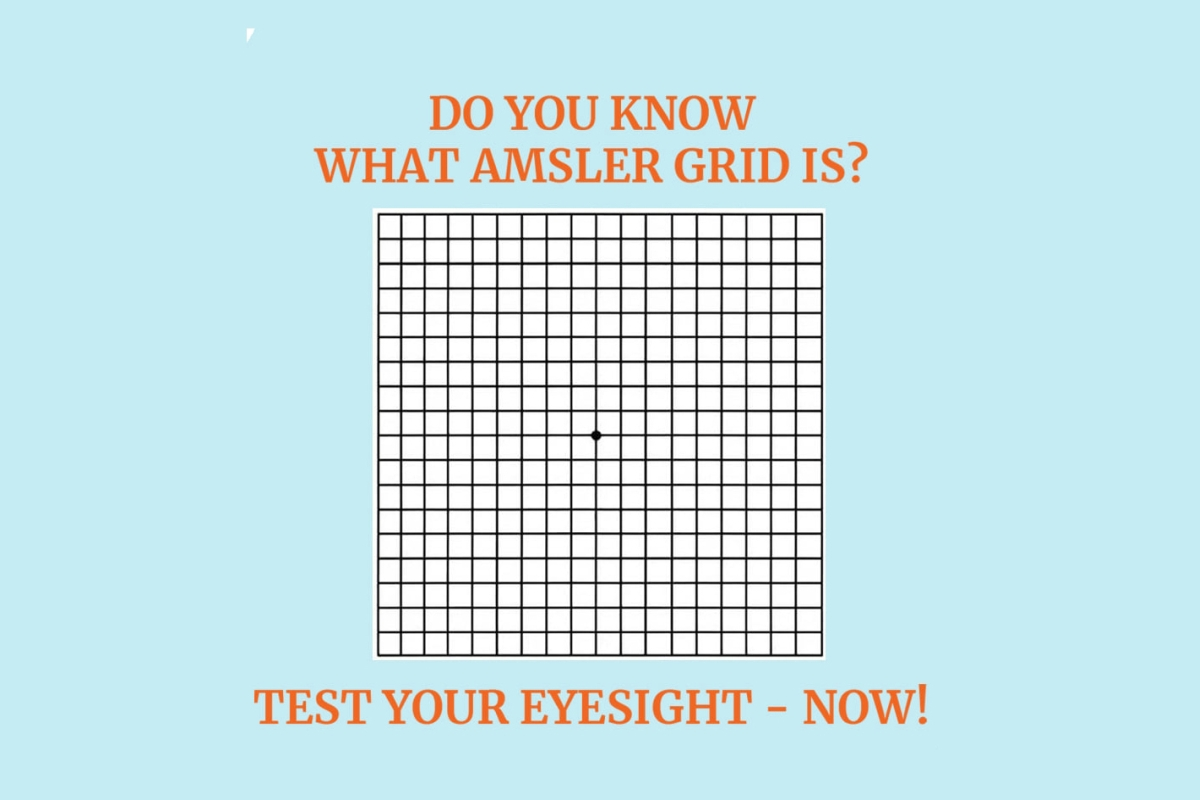 Do You Know What Amsler Grid Is? Test Your Eyesight Now!