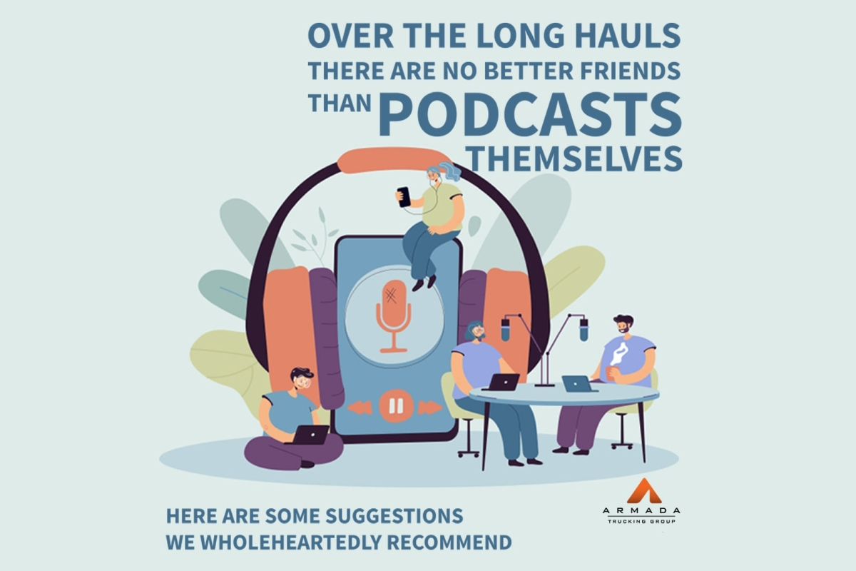 Five Podcasts We Highly Recommend to Truck Drivers