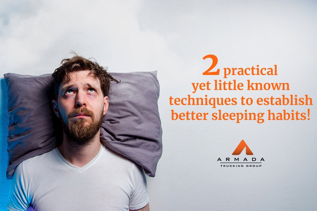 Two Practical Techniques to Establish Better Sleeping Habits